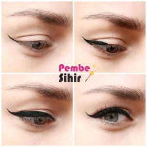 Eyeliner öncesi sonrası