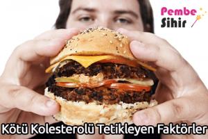 Kötü Kolesterolü Tetikleyen Faktörler
