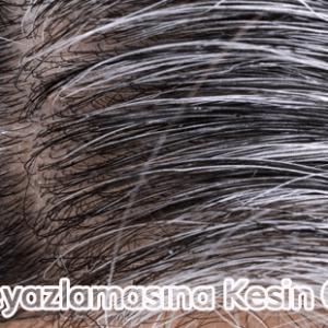 Saç Beyazlamasına Kesin Çözüm