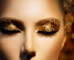 Leopar Göz Makyajı