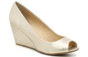 topluklu gelin ayakkabısı