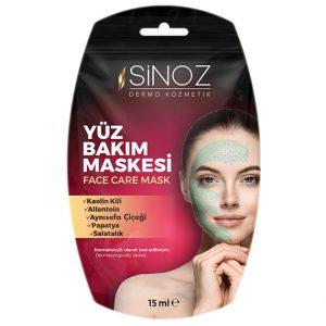 Sinoz Tek Kullanımlık Yüz Bakım Maskesi