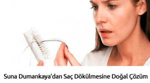 Suna Dumankaya'dan Saç Dökülmesine Doğal Çözüm
