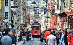 istanbulda gezilecek yerler - istiklal caddesi