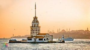 istanbulda gezilecek yerler - kız kulesi