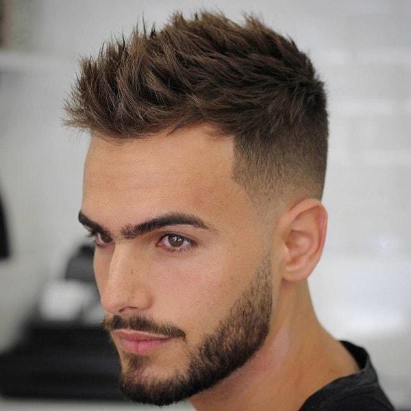 En Yeni Erkek Saç Modelleri 2018 Pembe Sihir
