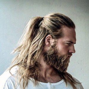 yarım at kuyruğu erkek saç modeli